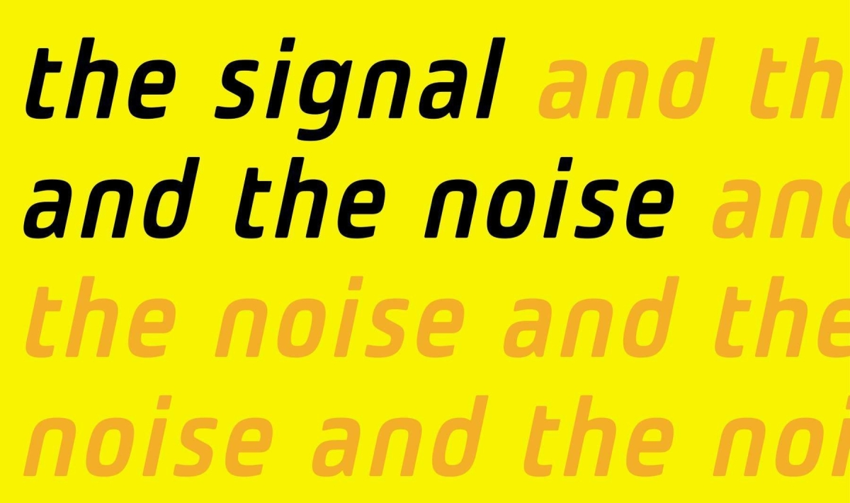 Book Report: The Signal and the Noise